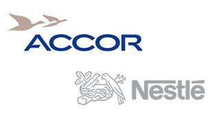 Logo Nestlé Accor